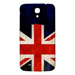 Flag Of Britain Grunge Union Jack Flag Background Samsung Galaxy Mega I9200 Hardshell Back Case