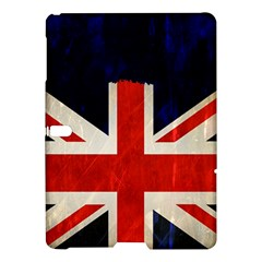 Flag Of Britain Grunge Union Jack Flag Background Samsung Galaxy Tab S (10 5 ) Hardshell Case