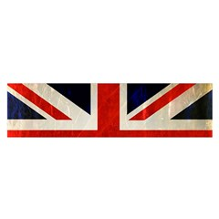 Flag Of Britain Grunge Union Jack Flag Background Satin Scarf (oblong)