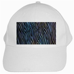 Abstract Background Wallpaper White Cap