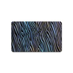 Abstract Background Wallpaper Magnet (name Card)