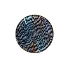 Abstract Background Wallpaper Hat Clip Ball Marker (4 pack)