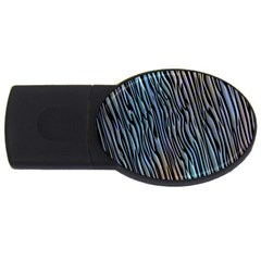 Abstract Background Wallpaper Usb Flash Drive Oval (4 Gb)