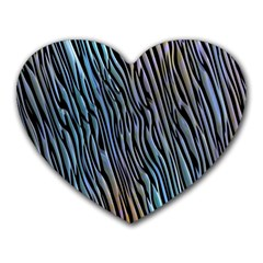 Abstract Background Wallpaper Heart Mousepads