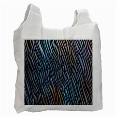 Abstract Background Wallpaper Recycle Bag (One Side)