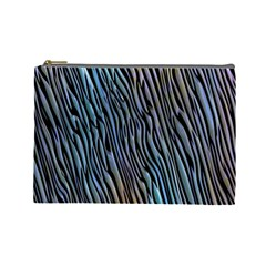 Abstract Background Wallpaper Cosmetic Bag (large)