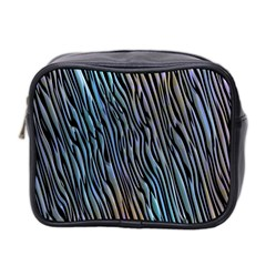 Abstract Background Wallpaper Mini Toiletries Bag 2-Side
