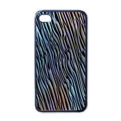 Abstract Background Wallpaper Apple iPhone 4 Case (Black)