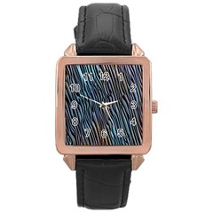 Abstract Background Wallpaper Rose Gold Leather Watch