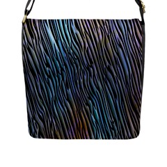 Abstract Background Wallpaper Flap Messenger Bag (l)