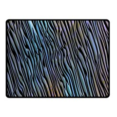 Abstract Background Wallpaper Double Sided Fleece Blanket (small)