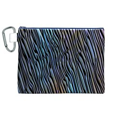 Abstract Background Wallpaper Canvas Cosmetic Bag (xl)