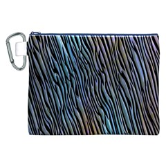 Abstract Background Wallpaper Canvas Cosmetic Bag (XXL)