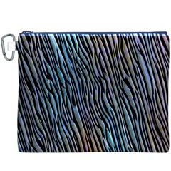 Abstract Background Wallpaper Canvas Cosmetic Bag (xxxl)