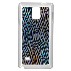 Abstract Background Wallpaper Samsung Galaxy Note 4 Case (White)