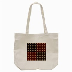 Decorative Pattern With Flowers Digital Computer Graphic Tote Bag (cream)