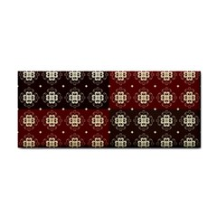 Decorative Pattern With Flowers Digital Computer Graphic Cosmetic Storage Cases