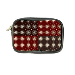 Decorative Pattern With Flowers Digital Computer Graphic Coin Purse