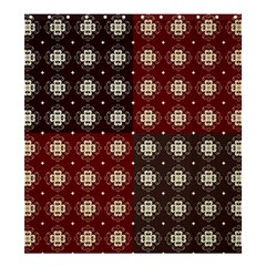 Decorative Pattern With Flowers Digital Computer Graphic Shower Curtain 66  X 72  (large)