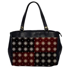 Decorative Pattern With Flowers Digital Computer Graphic Office Handbags
