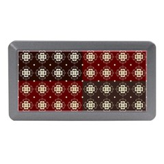 Decorative Pattern With Flowers Digital Computer Graphic Memory Card Reader (Mini)