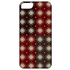 Decorative Pattern With Flowers Digital Computer Graphic Apple iPhone 5 Classic Hardshell Case