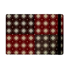 Decorative Pattern With Flowers Digital Computer Graphic Apple Ipad Mini Flip Case