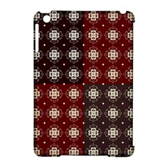 Decorative Pattern With Flowers Digital Computer Graphic Apple iPad Mini Hardshell Case (Compatible with Smart Cover)