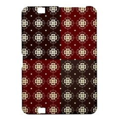 Decorative Pattern With Flowers Digital Computer Graphic Kindle Fire HD 8.9