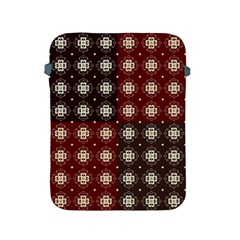 Decorative Pattern With Flowers Digital Computer Graphic Apple iPad 2/3/4 Protective Soft Cases
