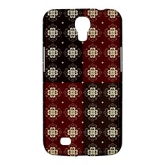 Decorative Pattern With Flowers Digital Computer Graphic Samsung Galaxy Mega 6 3  I9200 Hardshell Case