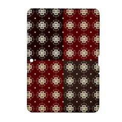 Decorative Pattern With Flowers Digital Computer Graphic Samsung Galaxy Tab 2 (10 1 ) P5100 Hardshell Case