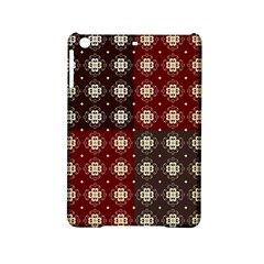 Decorative Pattern With Flowers Digital Computer Graphic iPad Mini 2 Hardshell Cases
