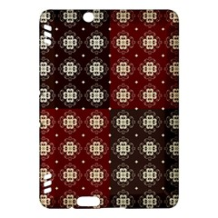 Decorative Pattern With Flowers Digital Computer Graphic Kindle Fire Hdx Hardshell Case