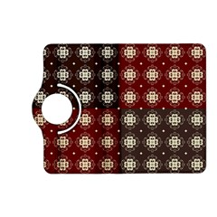 Decorative Pattern With Flowers Digital Computer Graphic Kindle Fire HD (2013) Flip 360 Case