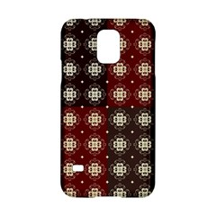 Decorative Pattern With Flowers Digital Computer Graphic Samsung Galaxy S5 Hardshell Case
