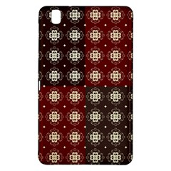 Decorative Pattern With Flowers Digital Computer Graphic Samsung Galaxy Tab Pro 8 4 Hardshell Case