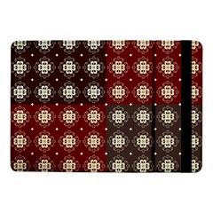 Decorative Pattern With Flowers Digital Computer Graphic Samsung Galaxy Tab Pro 10 1  Flip Case