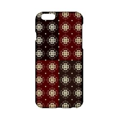 Decorative Pattern With Flowers Digital Computer Graphic Apple iPhone 6/6S Hardshell Case