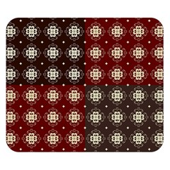 Decorative Pattern With Flowers Digital Computer Graphic Double Sided Flano Blanket (small)