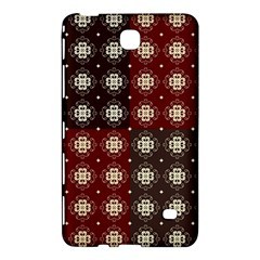 Decorative Pattern With Flowers Digital Computer Graphic Samsung Galaxy Tab 4 (7 ) Hardshell Case