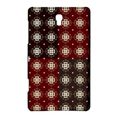 Decorative Pattern With Flowers Digital Computer Graphic Samsung Galaxy Tab S (8 4 ) Hardshell Case
