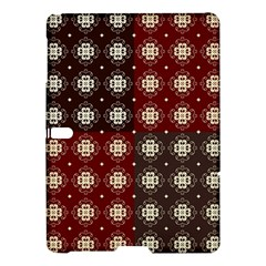 Decorative Pattern With Flowers Digital Computer Graphic Samsung Galaxy Tab S (10.5 ) Hardshell Case