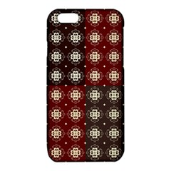 Decorative Pattern With Flowers Digital Computer Graphic iPhone 6/6S TPU Case