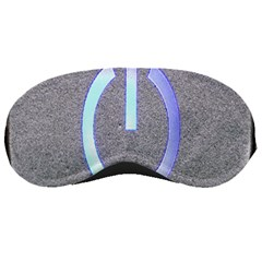 Close Up Of A Power Button Sleeping Masks