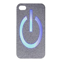 Close Up Of A Power Button Apple Iphone 4/4s Hardshell Case