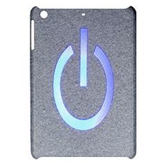 Close Up Of A Power Button Apple Ipad Mini Hardshell Case