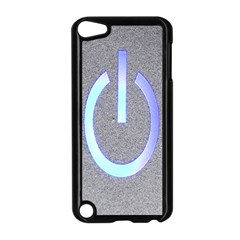 Close Up Of A Power Button Apple iPod Touch 5 Case (Black)