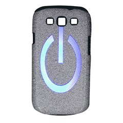 Close Up Of A Power Button Samsung Galaxy S Iii Classic Hardshell Case (pc+silicone)