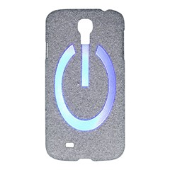Close Up Of A Power Button Samsung Galaxy S4 I9500/i9505 Hardshell Case